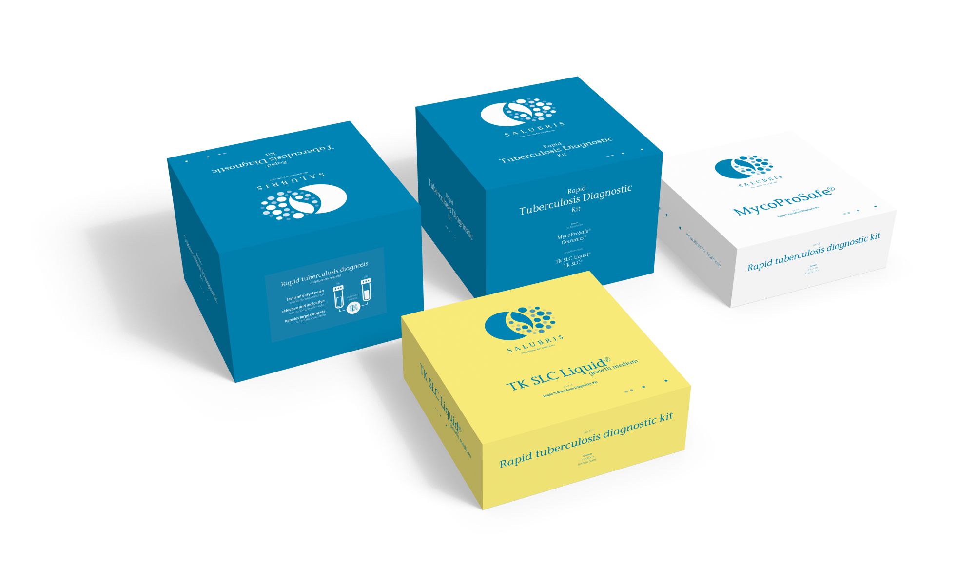Salubris packaging- innovations for healthcare - Identiteit Too Many Words | Infographics & identiteit te Utrecht